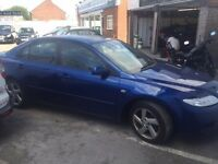 2003.. MAZDA 6 TS2...LONG MOT...BARGAIN TO CLEAR