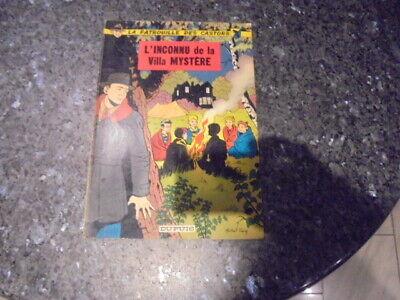 belle reedition brochee de la patrouille des castors l'inconnu de la villa myst