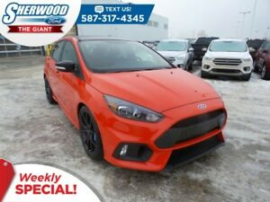 2018 Ford Focus RS AWD - 350HP, Summer/Winter Tires, Drift Mode
