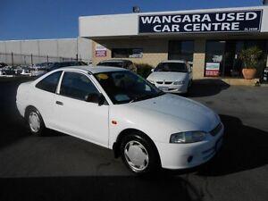 2003 Mitsubishi Lancer CE GLi White 5 Speed Manual Coupe Wangara Wanneroo Area Preview