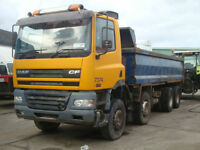 2002 Daf CF85 340 8x4 Tipper Manual Gearbox