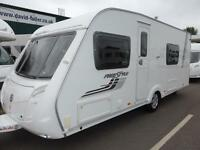 2011 SWIFT FREESTYLE 550 4 BERTH CARAVAN