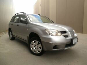 2006 Mitsubishi Outlander ZF MY06 LS Silver & Grey 4 Speed Sports Automatic Wagon Cheltenham Kingston Area Preview