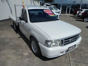 2005 Ford Courier PH GL White 5 Speed Manual Cab Chassis Buderim Maroochydore Area Preview