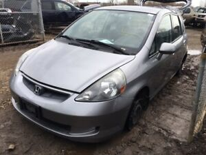 2008 Honda Fit just in for parts at Pic N Save!