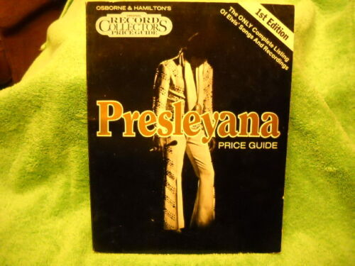 VINTAGE ELVIS PRESLEY - PRESLEYANA RECORD COLLECTORS PRICE GUIDE 1ST EDITION