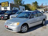 2002 Honda Civic Sdn DX