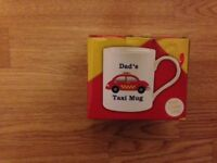 *** DAD'S TAXI MUG *** father's day gift
