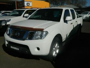 2011 Nissan Navara D40 ST (4x4) White 5 Speed Automatic Dual Cab Pick-up Wellington Wellington Area Preview