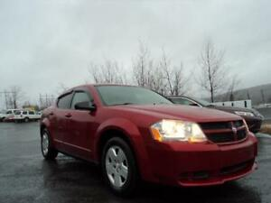 LOW MILEAGE 2008 AVENGER, SPOILER, WINTER TIRES! NEW MVI