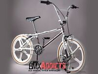 OLD SCHOOL BMX 80S BIKES AND PARTS WANTED