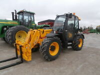 2008 JCB 536-60 Telehandler with Cab - Low Hours!