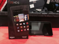 KINDLE FIRE HD 6INCH 4TH GEN 8GB WITH 12 MONTH WARRANTY