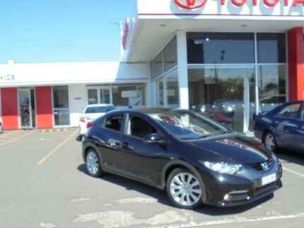 2012 Honda Civic FK VTi-L Black 5 Speed Automatic Hatchback Belmore Canterbury Area Preview