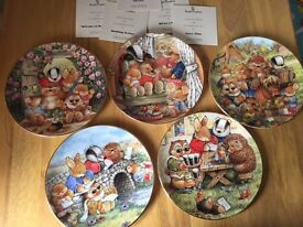 Country Companions Collection Plates