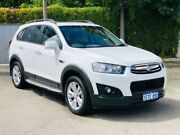 2015 Holden Captiva CG MY15 7 LT (AWD) White 6 Speed Automatic Wagon Kenwick Gosnells Area Preview