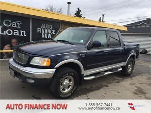2003 Ford F-150 Lariat Supercrew 4WD LEATHER LOADED CHEAP