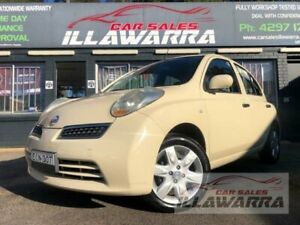 2010 Nissan Micra K12 Beige 4 Speed Automatic Hatchback Barrack Heights Shellharbour Area Preview