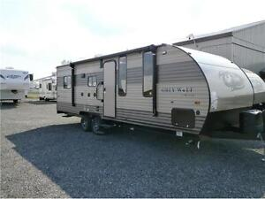 2017 FOREST RIVER GREYWOLF LIMITED 22 RR TOY HAULER! $24495!!!
