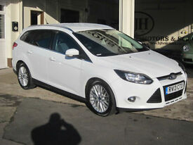 2013 Ford Focus 1.6TDCi 115ps Zetec Estate FULL FORD SERVICE HISTORY!!! £20 TAX