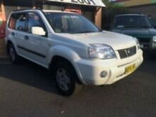 2004 Nissan X-Trail  White 4 Speed Automatic Wagon Campbelltown Campbelltown Area Preview