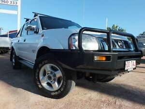 2013 Nissan Navara D22 S5 ST-R White 5 Speed Manual Utility Rosslea Townsville City Preview
