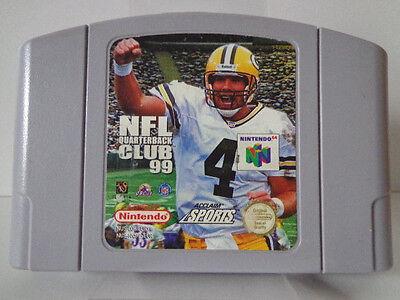 N64 Spiel - NFL Quarterback Club 99 (PAL) (Modul) Nintendo 64