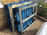 Free if collected - 2 wooden pallets