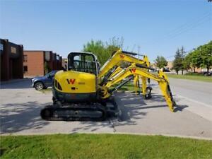5.3 Ton Excavator - Wacker Neuson EZ58 - Zero Tail Swing