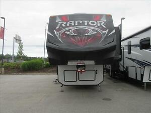 Keystone RAPTOR F398TS 5TH WHEEL TOY HAULER