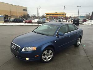 2006 AUDI A4 2.0T *6 SPEED,LEATHER,SUNROOF,LOADED!!!*