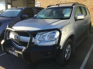 2013 Holden Colorado 7 RG MY13 LT Silver 6 Speed Sports Automatic Wagon Cardiff Lake Macquarie Area Preview