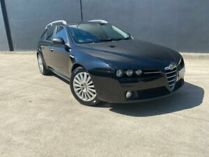 2006 Alfa Romeo 159 JTS 2.2 PETROL 6SPEED MANUAL WAGON Black Manual Sedan Villawood Bankstown Area Preview