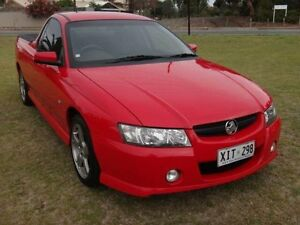2005 Holden Commodore VZ S Red 4 Speed Automatic Utility Albert Park Charles Sturt Area Preview
