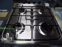 EX-DISPLAY 4 BURNER STAINLESS STEEL INDESIT GAS HOB REF: 13191