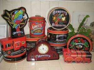 ARNOTTS Biscuit Tins & More !! Cooyar Toowoomba Surrounds Preview