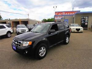 2011 FORD ESCAPE XLT 4 CYL 4WD GAS SAVER SUV EASY CAR FINANCE