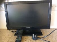 Toshiba 19DL502B2 - 19inch; High Definition LED TV with built-in DVD Player Includes Remote