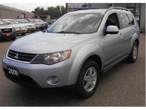 2009 Mitsubishi Outlander ES WITH LEATHER SEATS LOADED