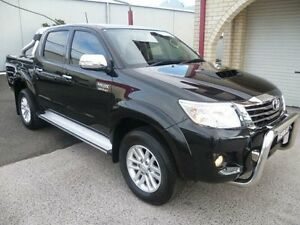 2013 Toyota Hilux KUN26R MY14 SR5 (4x4) Black Mica 5 Speed Automatic Dual Cab Pick-up South Nowra Nowra-Bomaderry Preview