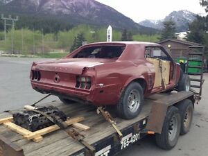 1969 Mustang project car