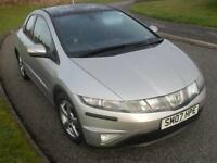 Honda Civic 1.8i-VTEC ES 2007 1 Pre Owner 84200 Mls Glass Roof Alloys 6 speed