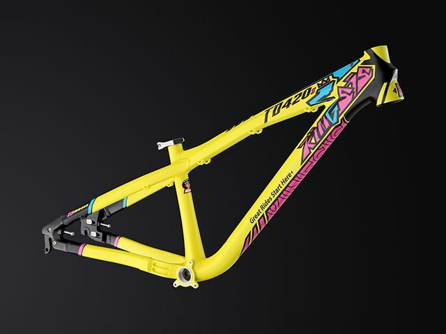 Dirt jumper frame