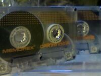 MEMOREX CRX II S 100 CHROME CASSETTE TAPES (1989-1990) RARE