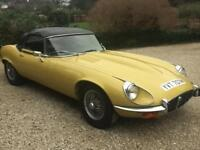 1973 JAGUAR E-TYPE 5.3 OPEN 2D