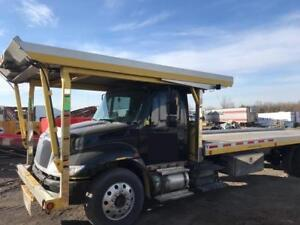 *REPO* 2004 International 4400SBA Double Deck 3 Car Hauler *REPO