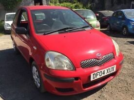 2004 Toyota Yaris diesel, starts and drives, well, car located in Gravesend Kent, trade sale due to