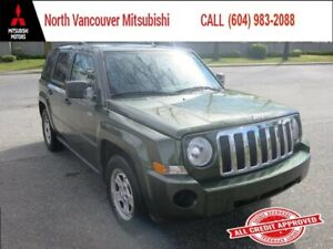 2008 Jeep Patriot Sport *4WD *POWERED ACCESSORIES *A/C
