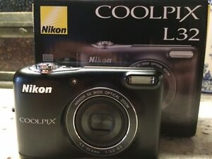 BRAND NEW !!! Nikon COOLPIX L32 CAMERA - MOVING SALE!!