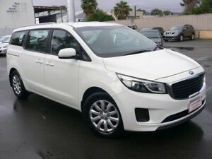 2017 Kia Carnival YP MY18 S Clear White 6 Speed Sports Automatic Wagon Melrose Park Mitcham Area Preview